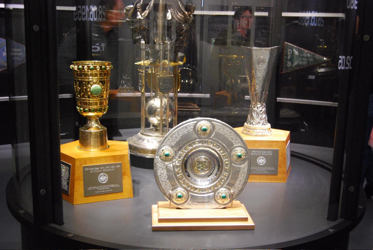 Eintracht Pokale, © Eintracht Museum