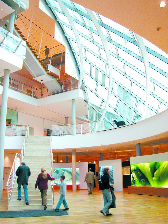 Museum für Kommunikation Frankfurt - Lichthof