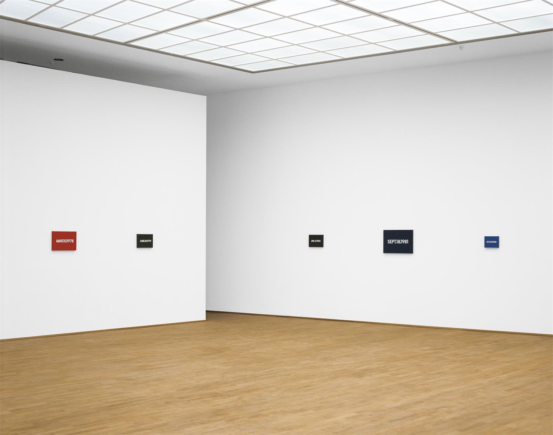 On Kawara Raum, © MMK Museum für Moderne Kunst
