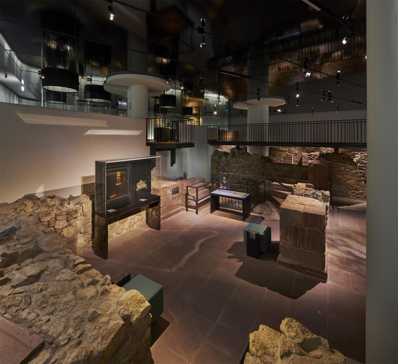 Museum Judengasse: Blick ins Steinerne Haus © Norbert Miguletz, Jüdisches Museum Frankfurt