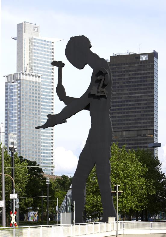 Hammering Man von Borofski Jonathan, Foto: Wolfgang Günzel