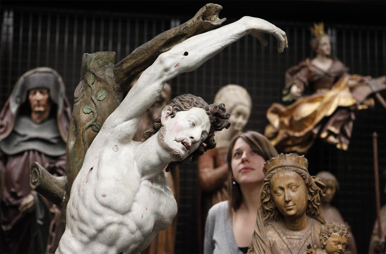 Ansicht Schaudepot Liebieghaus Skulpturensammlung (Foto: Alexander Heimann)