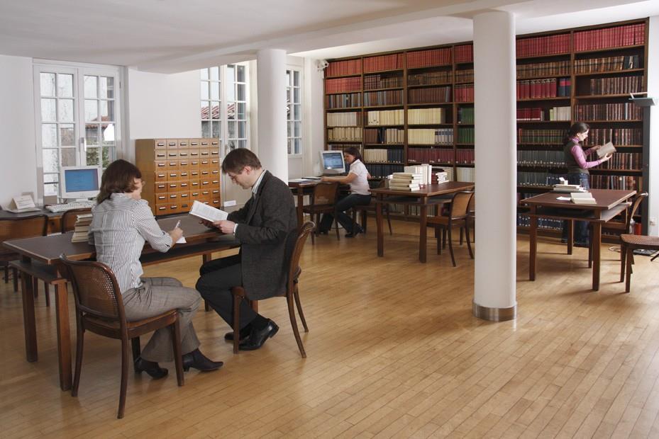 Freies Deutsches Hochstift - Goethemuseum und Goethehaus: Wissenschaftliche Bibliothek, Foto: Katharina Kott