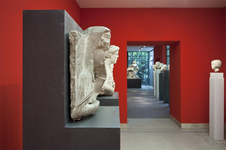 Liebieghaus Skulpturensammlung, Antikensammlung, Foto: Norbert Miguletz