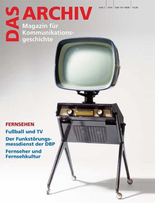 DAS ARCHIV - Magazin für Kommunikationsgeschichte Titelseite, Deutsche Gesellschaft für Post- und Telekommunikationsgeschichte e.V. (DGPT)