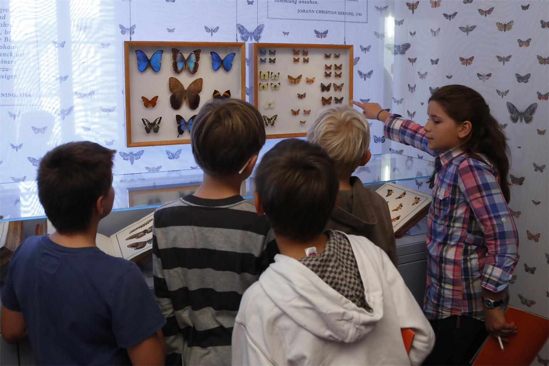 Kinder im Museum © Historisches Museum Frankfurt