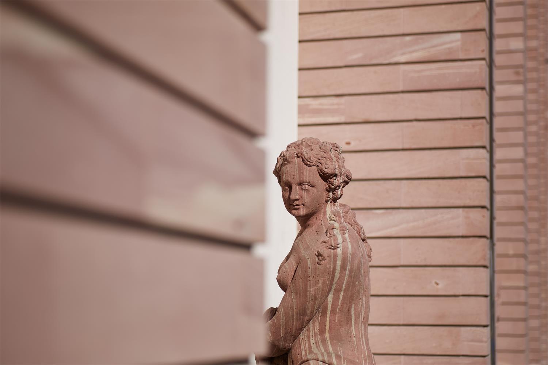 Skulpturengalerie Historisches Museum, Flora (Detail) © Hochbauamt Frankfurt am Main