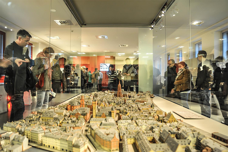 Stadtmodell, Historisches Museum Frankfurt © Michael Faust