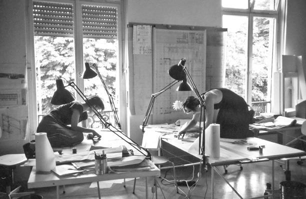 Mitarbeiterinnen im Mannheimer Büro von Ingeborg Kuhler Foto: Büro Ingeborg Kuhler