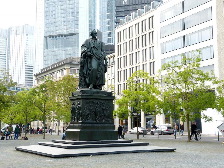 Goethe-Denkmal von Ludwig von Schwanthaler, Foto: Eva Burger