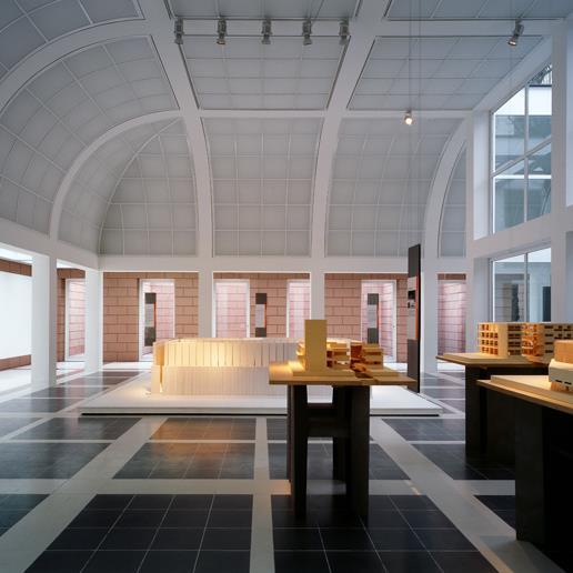 Deutsches Architekturmuseum, Erdgeschoss, Foto: Uwe Dettmar