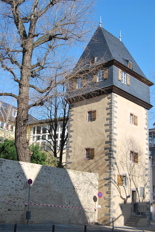 Kuhhirtenturm Frankfurt Sachsenhausen, Hindemith-Kabinett