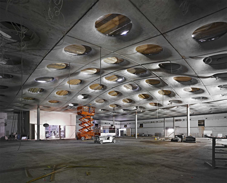 Baustelle Städel Erweiterung, Foto: Norbert Miguletz