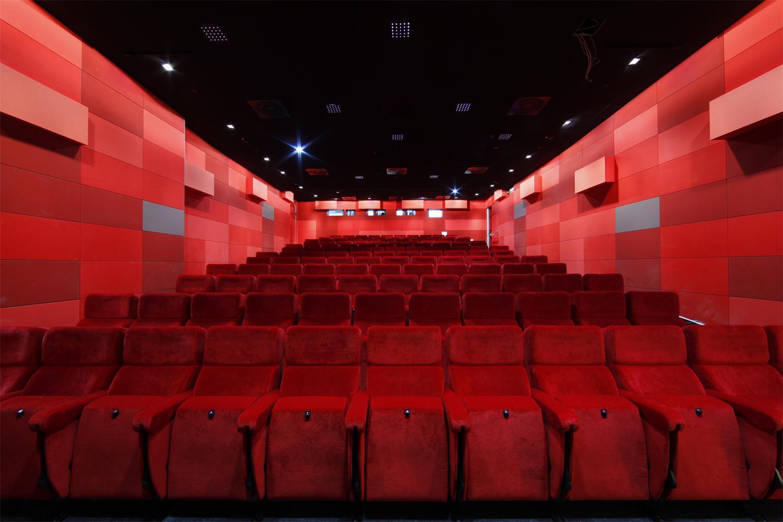 Das Kinos im neuen Filmmuseum Foto: Uwe Dettmar / Quelle: Deutsches Filminstitut