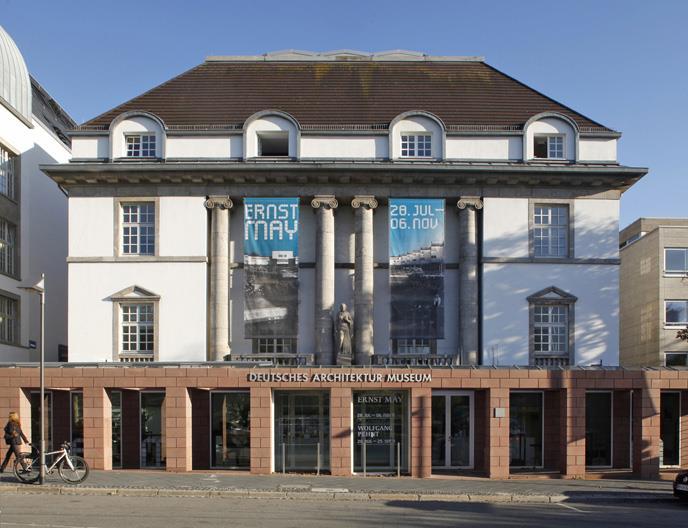 Außenansicht Deutsches Architekturmuseum, Foto: Uwe Dettmar
