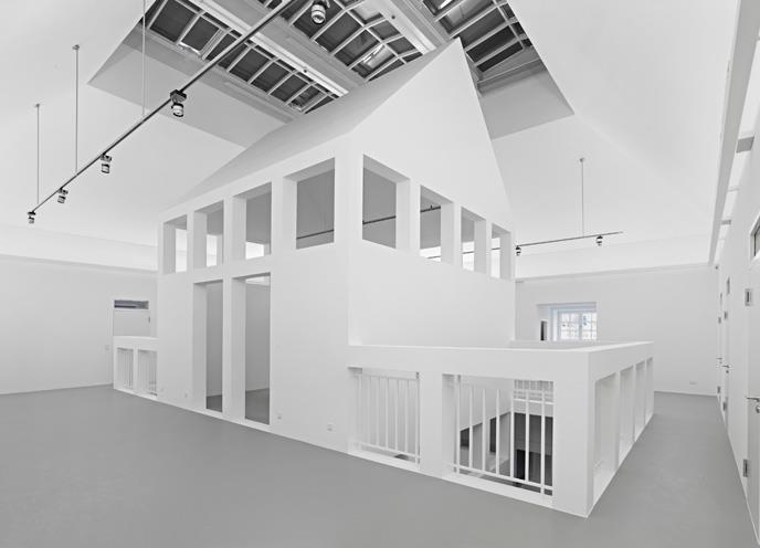 Deutsches Architekturmuseum, Haus im Haus, Foto: Norbert Miguletz
